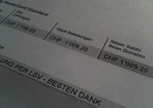 bl guthaben auf der kreditkarte bei swisscard ist auszahlung ausgeschlossen. Black Bedroom Furniture Sets. Home Design Ideas